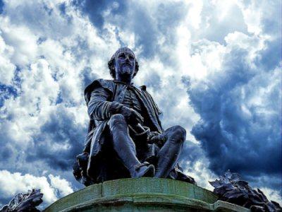 Уильям Шекспир, статуя